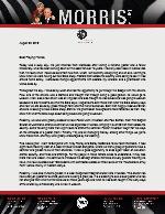 Peter Morris Prayer Letter: Discipleship Out West