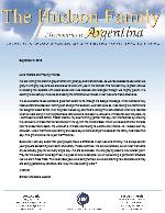Simeon Hudson Prayer Letter:  Joyful Harvest!