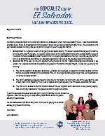 Henry Gonzalez Prayer Letter:  Please Partner in Prayer With Us