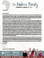 Mark Holmes Prayer Letter:  SMITE Travels