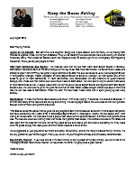 Warren Storm Prayer Letter: Putting More Buses Back on the Road