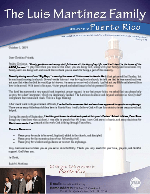 Luis Martinez Prayer Letter:  Starting Our Orphanage