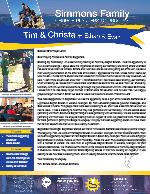 Tim Simmons Prayer Letter: Sharing Our Testimony