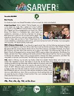 Mike Sarver Prayer Letter:  Special Visitors