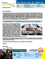 Brian George Prayer Letter:  Bible College