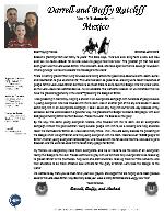 Darrell Ratcliff Prayer Letter:  Christmas Letter 2019