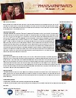 Teerapat Phaisarnpiwat Prayer Letter: The Angel's Good News