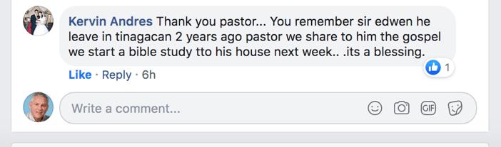 FBMI Missionary Charlie Vest Prayer Letter Picture