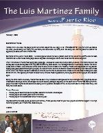 Luis Martinez Prayer Letter: Vision 2020