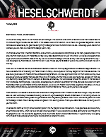 Brandon Heselschwerdt Prayer Letter: Giving the Gospel to Everyone