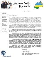 Gregg Schoof Prayer Letter: More Problems From Rwanda