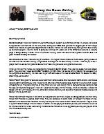 Warren Storm Prayer Letter: God's Blessings