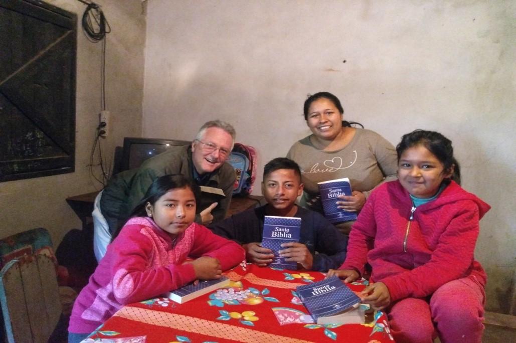 FBMI Missionary Simeon Hudson Prayer Letter Picture