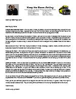 Warren Storm Prayer Letter: Thankful God Meets Our Needs