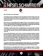 Brandon Heselschwerdt Prayer Letter: We Are on the Road Again!