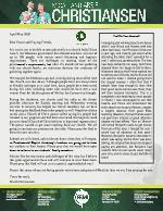Micah Christiansen Prayer Letter: Restricted but Free!