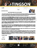 Garry Tingson Prayer Letter: Our Faith Became Sight, and the Lord Truly Blessed!