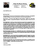 Warren Storm Prayer Letter: Thanking God for Divine Appointments