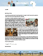 Caleb Christiansen Prayer Letter: A Busy Month