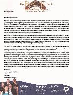 Ron Back Prayer Letter: Please Pray for Australia!