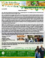 Keith Hamilton Prayer Letter: Released From Lockdown