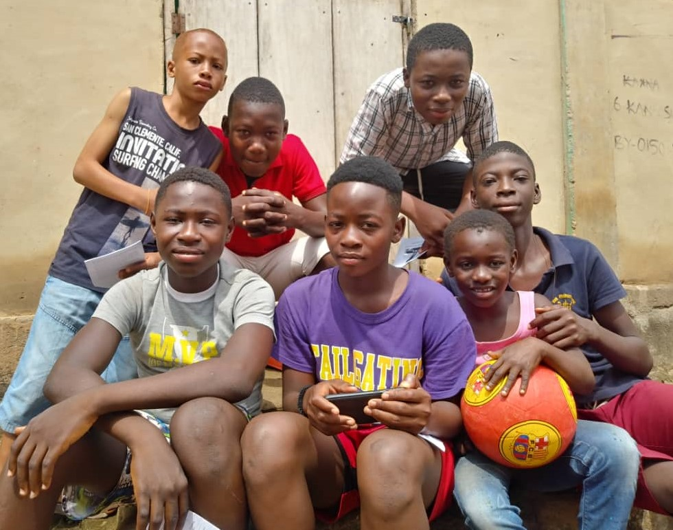 New Converts Ready to Play Football