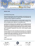 Simeon Hudson Prayer Letter: Fruit in the Yard
