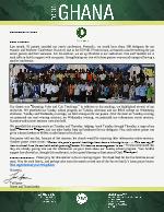 Team Ghana Update: Pastors' Seminar