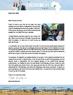 Caleb Christiansen Prayer Letter: Two-Edged Sword of Deputation