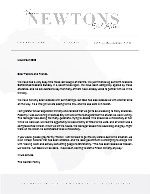 Charles Newton Prayer Letter: Blessings Abound!