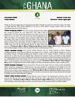 Team Ghana National Pastor Spotlight: A Father and Two Sons Come to Christ