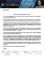 John Hays Prayer Letter: What Is a Klor Gen 3000 System?
