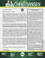 Micah Christiansen Prayer Letter: Thanksgiving in Ghana