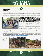 Team Ghana Update: Reaching Out While in Bible College
