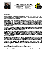 Warren Storm Prayer Letter: The Glory Is God's!