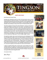 Garry Tingson Prayer Letter: A Bittersweet Month for Our Family
