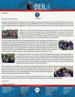 Jonathan Beil Prayer Letter:  One Year on the Field!