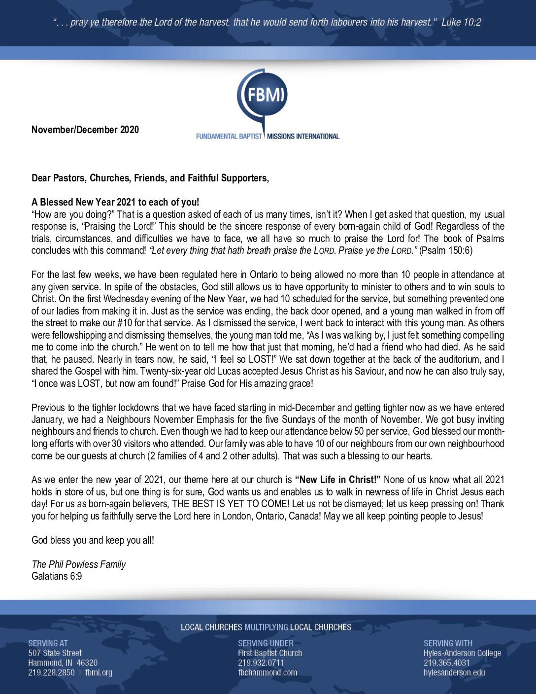 thumbnail of Phillip Powless Nov-Dec 2020 Prayer Letter – Revised