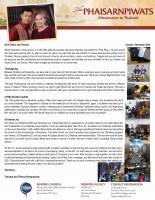 Teerapat Phaisarnpiwat Prayer Letter: Thanksgiving and Christmas Joy