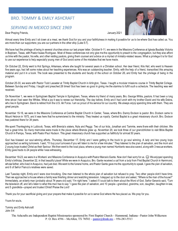 thumbnail of Tommy Ashcraft Dec 2020 – Jan 2021 Prayer Letter – 2
