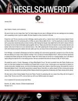 Brandon Heselschwerdt Prayer Letter:  New Supporting Churches