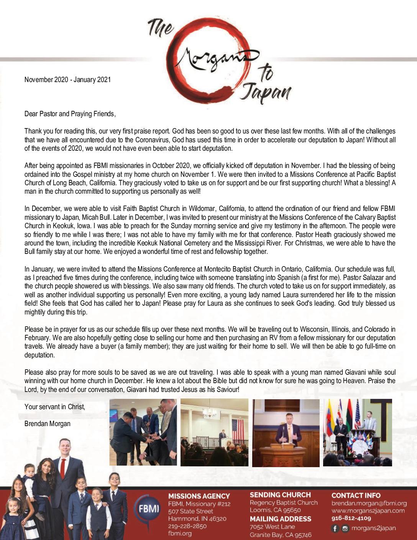 thumbnail of Brendan Morgan Nov 2020 – Jan 2021 Prayer Letter – Final