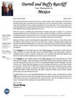 Darrell Ratcliff Prayer Letter: New Website and New Book!