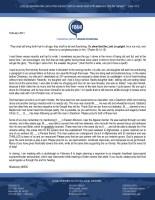 Missionary #6505 Prayer Letter: The Longer I Serve Him . . .