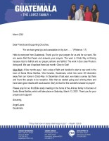 Angel Lopez Prayer Letter: Starting a New Work
