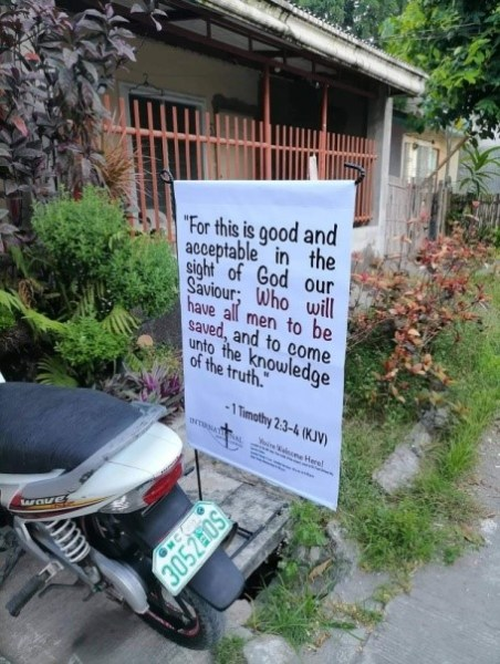 FBMI Missionary Scott Christiansen Prayer Letter Picture