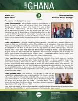 Ghana National Pastor Spotlight: Testimonies from Four Pastors