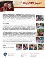 Teerapat Phaisarnpiwat Prayer Letter: Redeeming the Time