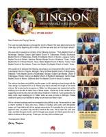 Garry Tingson Prayer Letter: Full Steam Ahead!