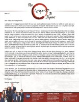 Brendan and Karin Morgan Prayer Letter: Time of Transition, but Also Great Blessing!